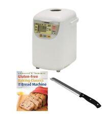 Zojirushi BB-HAC10 Home Bakery 1 Pound Loaf Programmable Mini Breadmaker Bundle