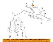 GM OEM Wiper Washer-Windshield-Wiper Arm Cap 15776792