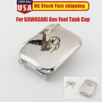 Gas Fuel Tank Cap Kit For KAWASAKI GPZ750 GPZ1100 KZ750H1 H2 H3 H4 F1 1980-1983