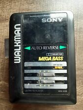 Sony WM B 39 VTG Walkman cassette player Motor spins Needs belt used condition