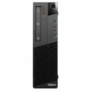 Lenovo ThinkCentre M93P SFF PC | Intel i5 4th Gen 4GB RAM 500GB HDD Windows 10