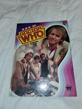 Bbc Tv Doctor Who Annual 1983 Hardcover Book - Sci Fi - Science Fiction
