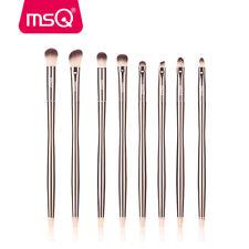8PCS Pro Eye Brow Makeup Brush Set Eye Shader Lip Concealer Cosmetics Brush MSQ