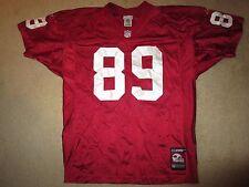 Nate Poole #89 Arizona Cardinals NFL Reebok Game Vintage Jersey 48 XL
