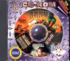 KEN'S LABYRINTH + DOOM + OVERKILL PC Game White Wolf Software #1 CD-ROM 10 PACK