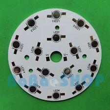 2pcs 15W Aluminum PCB 90mm High Power LED Spotlight Ceiling 15x1W 15x3W 15x5W