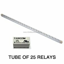 25 x DPDT RELAY-TYCO / AXICOM v23105a 1A relè 9V 150 mW BOBINA