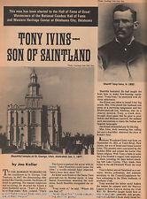 Tony Ivings -  Mormon Son Of Saintland+Andrews,Benedict,Hamlin,Koller,Pollard,