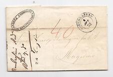 I931-PIEMONTE-BORGOMANERO X MAGADINO (SVIZZERA) 1852