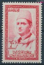 Marruecos - Nordzone Michel.-No..: 21 con charnela 1957 Mohammed (9413569