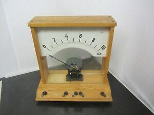 Altes Meßgerät Schulbedarf Physik