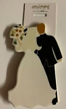 Happy Everything Bride & Groom Mini Attachment Nwt