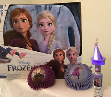 Lot Of 4 Disney Frozen 2  Scoot Racer, 1 Lite & Talk Wand, 2 Frozen Rubber Balls
