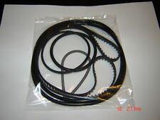 16MM  Eiki ST/M Series Projector Belts, 6 Belt Set /With Wire Belt/ New Eiki Kit