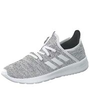 Adidas Women's Cloudfoam Pure Grey Trainers Slim Fit Running Shoes Size Uk 5 New
