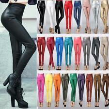 1 Pc Woman Leather Leggings High Waist Legging