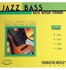 Thomastik-Infeld JF364 T-I Jazz Flatwound Bass Guitar Strings - Super Long Scale