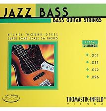 Thomastik-Infeld JF364 T-I Jazz Flatwound Bass Guitar Strings - Super Long Scale