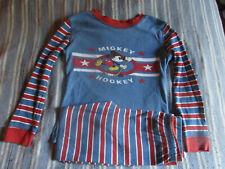 Disney Mickey Mouse Hockey Pajamas Boys Size 5T