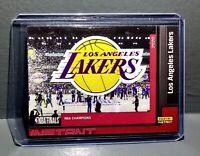 LA Lakers 2020 Panini NBA Champions #1 Basketball Card