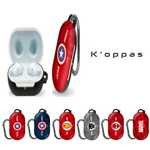 Official Disney Marvel Samsung Galaxy Buds Case Cover 6 Characters With Clip