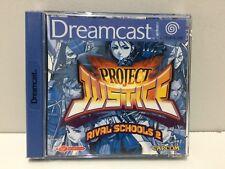 Project Justice Rival Schools 2 Sega Dreamcast Pal