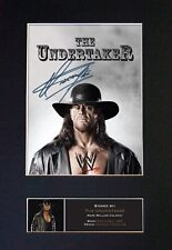 More details for #481 the undertaker reproduction signature/autograph mounted signed photograph