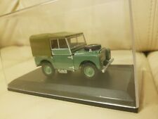 1:43 Scale 60th Anniversary Land Rover Series I (HUE 166)