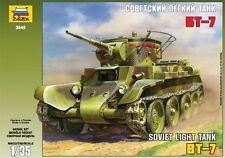 ZVEZDA 3545 BT-7 SOVIET LIGHT TANK WWII SCALE MODEL KIT 1/35 NEW
