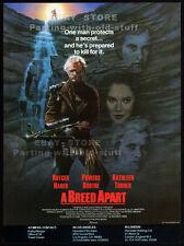 A BREED APART__Original 1984 Trade AD_movie promo__RUTGER HAUER__KATHLEEN TURNER