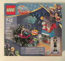 LEGO New Lot of 2 Bright Girls SuperHero Girls 1x1 Kryptomite Face Tiles