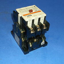 FUJI ELECTRIC 110/120V 25HP 3 POLE TYPE SC-2SN MAGNETIC CONTACTOR, 4NC2F0