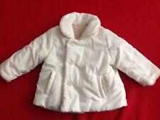 wie NEU! Weiße Jacke Zara Gr 68 Baby Herbstjacke Winterjacke