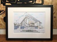 Leeds United, Elland Road Stadium Print