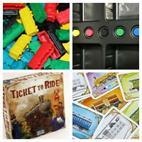 Ticket to Ride YOU PICK  Board Game REPLACEMENT PARTS & Pieces Days of Wonder