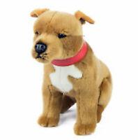 ~❤️BOCCHETTA Staffy PAX 25cms brown & white plush soft toy Dog NWT~❤️