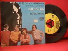 THE CRY'N STRINGS Monja / Bu Bu Bi Du 7/45 RARE 67' BEAT GARAGE ROCK Kerston