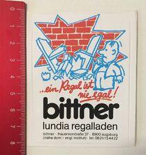 Aufkleber/Sticker: Bittner Lundia Regalladen - Ein Regal Ist Nie Egal(010616182)