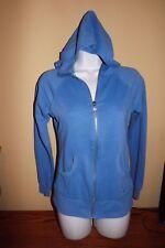 "VICTORIA""S SECRET Angel  Hoodie with sequins Wing Zip Up Jacket light Blue XS"