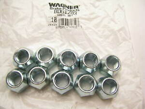 (10) Wagner BD61283 Wheel Lug Nuts