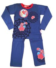 Marvel Comics Spider-Man & Friends Boy's Pajama 2 Piece Set Size 116 Cm NWT