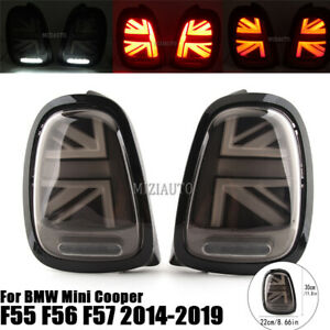 LED Rear Brake Tail Light For BMW Mini Cooper One F55 F56 F57 2014-16 17 18 2019