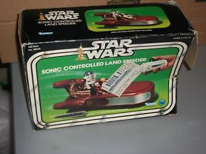 1978 Kenner Star Wars SONIC CONTROLLED LAND SPEEDER BOX