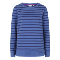 Lazy Jacks Ladies Striped Sweatshirt - Moonlight - LJ131