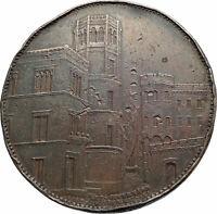 1852 GERMANY Dusseldorf Rhine-Westphalia Trade Fair Antique Genuine Token i79911