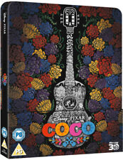 Disney Pixar COCO 3D Blu-ray - Limited Edition Embossed Steelbook - Region Free
