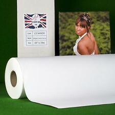 "44"" x 18m 340gsm Inkjet COTTON Canvas Roll (Matte) Water Resistant 100% Cotton"
