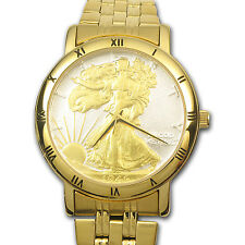 Men's Walking Liberty Half Dollar Watch - SKU #82979