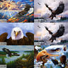 5D DIY Full Drill Diamond Painting Eagle Cross Art Stitch Embroidery Decorative