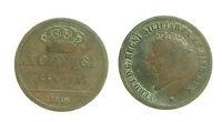 pci2934) Napoli Regno delle Due Sicilie Ferdinando I - 5 Tornesi 1819